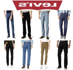 NEW Levi's Men's Authentic Denim Jeans 501 Original Fit,502,