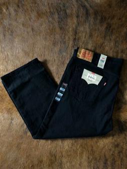 NEW Levis 501 Jeans Men's Stretch Black Denim 48x29 NWT
