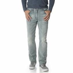 Wrangler NEW Light Blue Denim Men's Flex For Comfort Classic