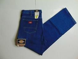 NEW Dickies Men 38 x 32 Blue Jeans Workhorse Relaxed Fit Dou