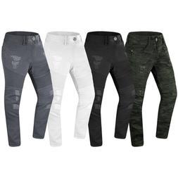 NEW Men Ripped Distressed Biker Denim Jeans Stretchy Fabric