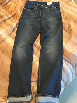 NEW MEN'S 32x34 LEVI'S LVC VINTAGE CLOTHING 1947 501 JEANS D