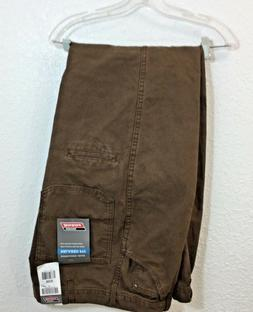 NEW Men's Genuine Dickies Brown Dungaree Jean Relaxed Fit Wo