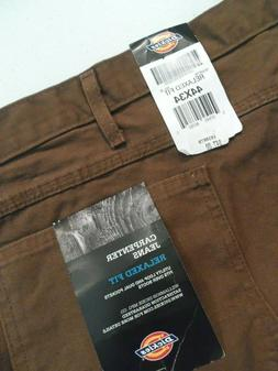 NEW Dickies Men's Carpenter Duck Jeans Size 44x34 Relaxed Fi