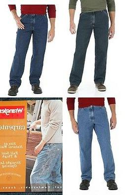 New Wrangler Men's Carpenter Jeans Big and Tall sizes Three