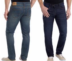 NEW!! Izod Men's Comfort Stretch Straight Fit & Leg Denim Je