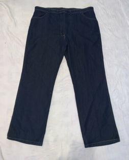NEW Men's Wrangler Denim Jeans Size 46x32 Flex Fit Waist NWT
