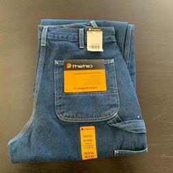 NEW Men's Carhartt Dungaree Straight Leg Original Fit Jeans