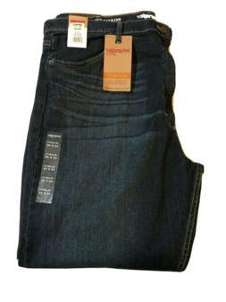 New Men's Wrangler Jeans 42 X 30 Relaxed Fit Straight Leg St