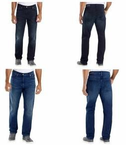 NEW Men's Calvin Klein Jeans Straight Leg Fit Blue Stretch S