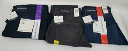 New Men's Calvin Klein Jeans Straight Leg Stretch Sits At Wa