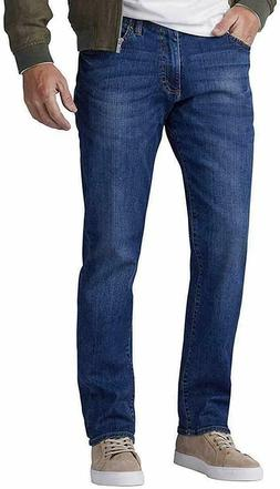 NEW Men's Lee Motion Stretch Jeans Straight Leg Medium Wash