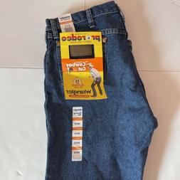 NEW Wrangler Men's Pro Rodeo Competition Cowboy Cut Jeans Si