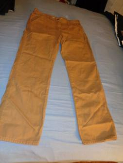 NEW! Dickies Men's Relaxed Fit Carpenter Duck Jeans Light We