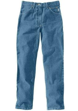 NEW! Carhartt Men's Relaxed Fit Five Pocket Tapered Leg Jean