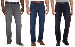 NEW-URBAN STAR Men's Relaxed Fit Jeans Black, Blue, Gray, Wa