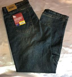 New IZOD Men's Size 32x32 Comfort Stretch Straight Fit Jeans