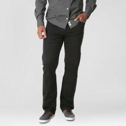 NEW! Wrangler Jeans Men's Straight Fit Black with Flex Pants