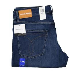 New Calvin Klein Men's Straight Fit Jeans All Sizes Mid Deni