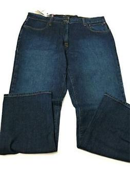 New Tommy Hilfiger Men's Stretch Straight Leg Fit Jeans, Dar