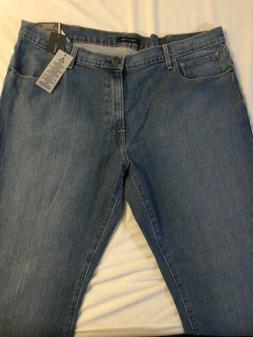 New Tommy Hilfiger Men's Stretch Straight Light Wash Jeans P