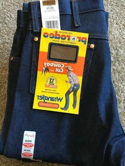New Men's Wrangler Cowboy Cut 13MWZ Original Fit Jeans Rig