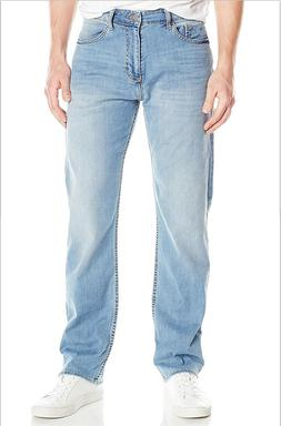NEW MENS CALVIN KLEIN JEANS RELAXED FIT STRAIGHT JEANS 32 X