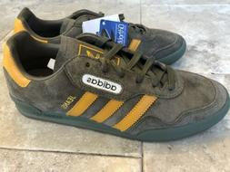 New Mens adidas  Jeans Super - Branch/Yellow Suede-UK 6
