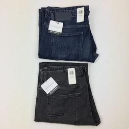 NEW Mens Calvin Klein Straight Leg Fit Jeans Osaka Blue Axe