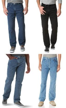 New Wrangler Relaxed Fit Jeans Big and Tall Sizes Four Color