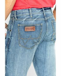NEW Wrangler Retro Men's Greely Slim Boot Cut Denim Jeans 77