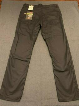NEW Dickies Slim Fit Tapered Leg 5-Pocket Black Work Jeans -