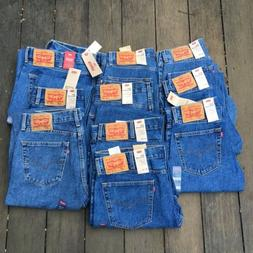 New With Tags Men's LEVI'S 505 Regular Denim Jeans Size 34 x