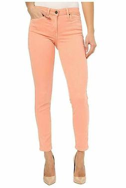 NEW - Calvin Klein Womens Ankle Skinny Jeans Chintz Rose