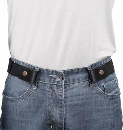 No Buckle Show Belt for Men Buckle Free Stretch Belt for Jea