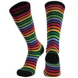 Novelty Socks, Gmark Women's Rainbow Colour Bright Fun Combe