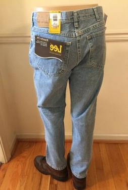 NWT Lee Men/'s Regular Fit Denim Jeans Classic Straight Leg New 20089 All Sizes