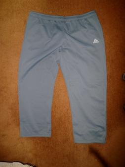 NWOT Adidas ClimaWarm Gray Warm Up Gym Athletic Sweat Pants