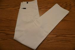 NWOT MEN'S 7 FOR ALL MANKIND JEANS Size 32 x 33 Slimmy Zip F