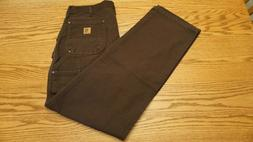 NWOT MEN'S CARHARTT JEANS Size 35 x 32 Loose Original Fit Ca