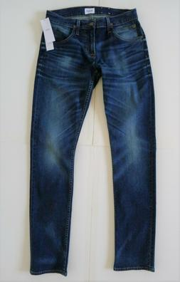 NWT HUDSON Bryon 5 pocket Straight Men Stretch Jeans 34 x 32 Dark Wash $198