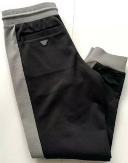 NWT $210 Armani Jeans Men's Cotton Train Logo Sport Pants Si