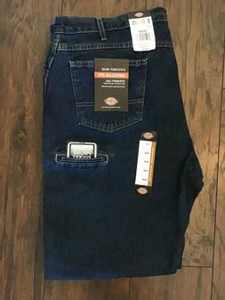 NWT Dickies 6 Pocket Regular Fit Straight Leg Blue Work Jean