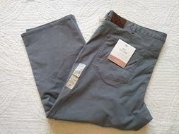 NWT $65 Dockers THE JEAN CUT Gray Jeans Pants Mens 48 x 30