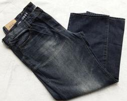 IZOD NWT Big and Tall Jeans Relaxed-Fit Rinse Mens 44x32 New