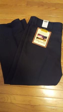 NWT Wrangler BootCut  Stretch Denim Black Jeans Men's Size 4