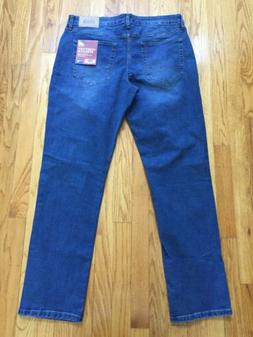 NWT IZOD Comfort Stretch Straight Fit 5 Pocket Jeans 34 x 32