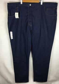NWT Rasco FR Fire Resistant Blue Jeans Men's Size 54x36 Big