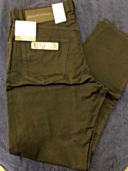 NWT Calvin Klein Jeans Men's Straight Fit Jean, CKJ035, Blac