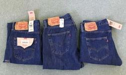 NWT Levi's Men's 501 Original Fit Straight Leg Button Fly Je